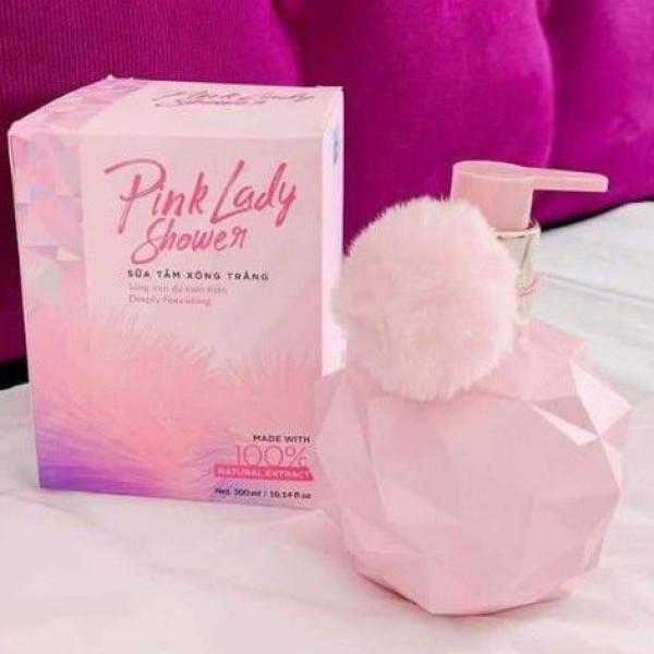 [ Chính Hãng] Sữa tắm xông trắng Pink Lady Qlady, sữa tắm pink lady, sữa tắm