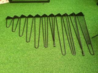 Chân Hairpin 30cm Chân Làm Bàn Chân làm ghế Chân sắt Chân sắt lắp ráp thumbnail