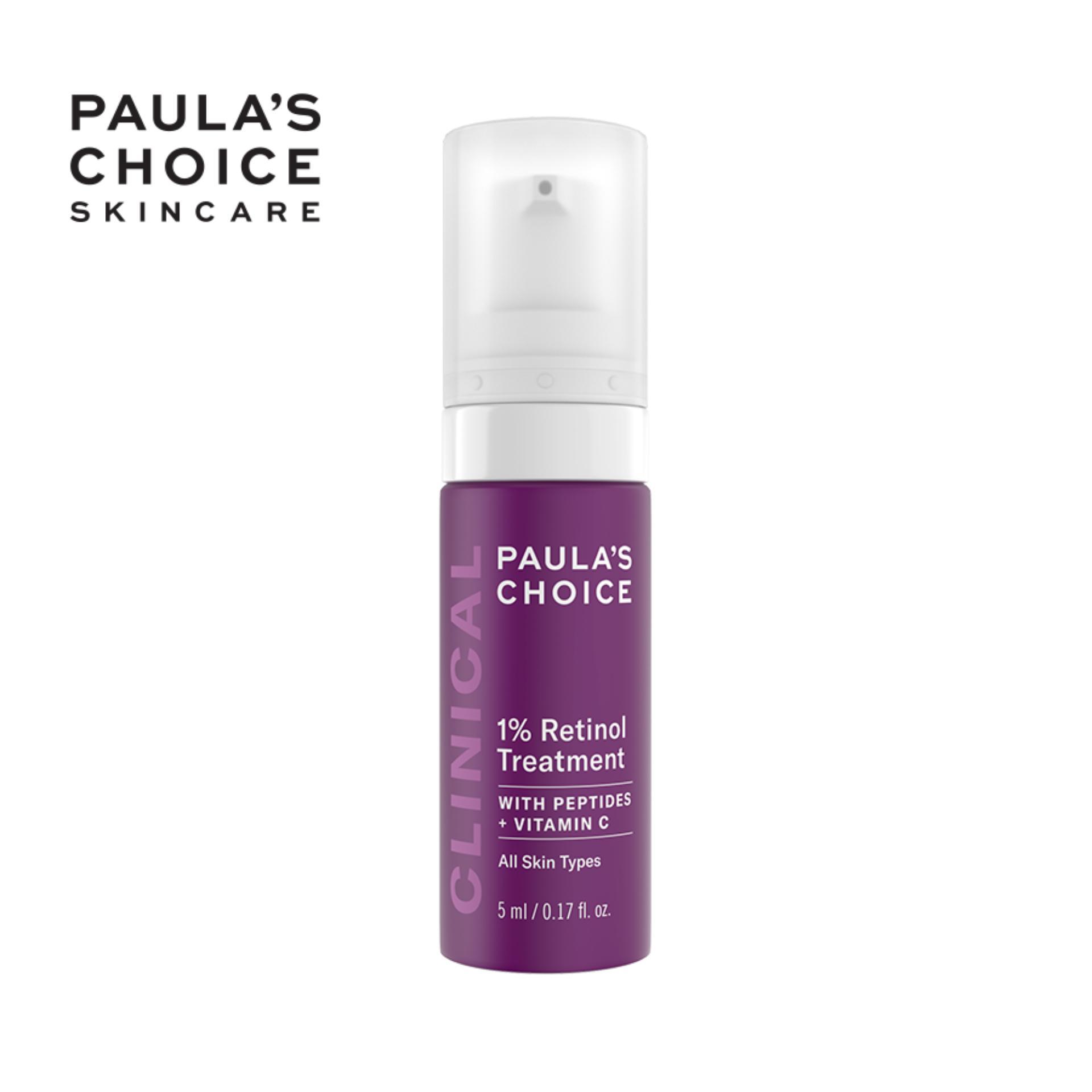 Tinh chất chống nám và nếp nhăn Paula's Choice Clinical 1% Retinol Treatment 5ml nhập khẩu