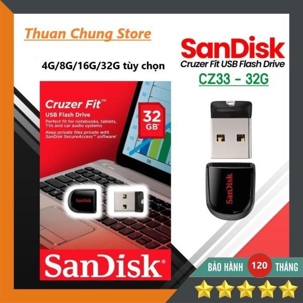 Giá USB Sandisk 2.0 Siêu nhỏ gọn 4GB / 8GB / 16GB / 32GB Bảo hành 10 năm 1 đổi 1