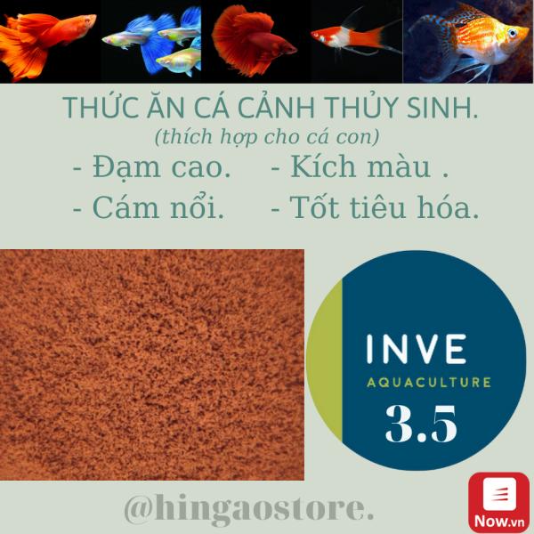 Cám Thái Inve 3/5 - 3.5 - Gói 1KG - Thức ăn cá cảnh cao cấp NHẬP THÁI | Hingaostore.