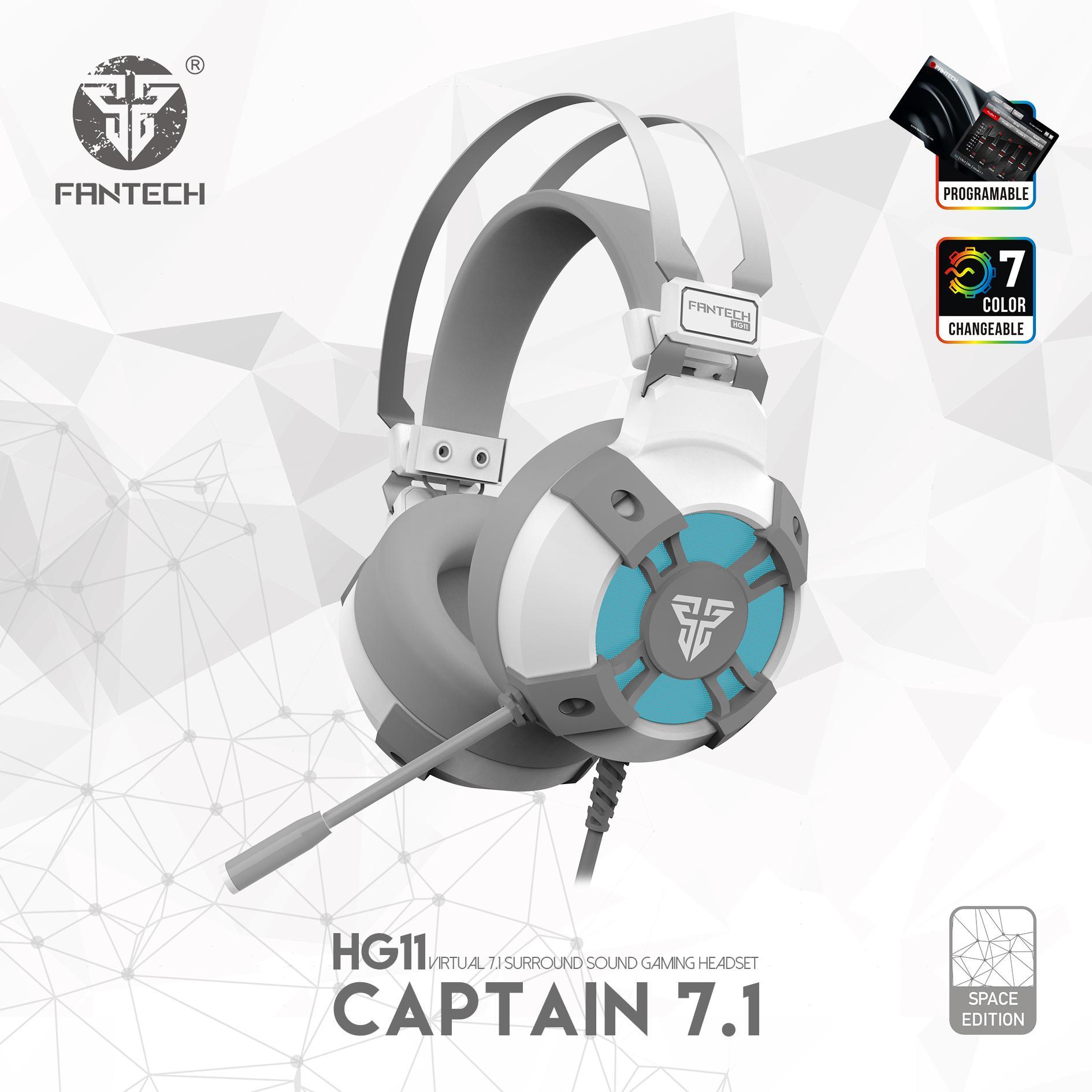 Giá Tai nghe FanTech HG11 Captain 7.1 có LED RGB - Hãng Phân Phối Chính Thức