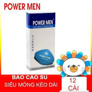 Bao cao su Powermen Viagra Hộp 12 chiếc BCS thumbnail