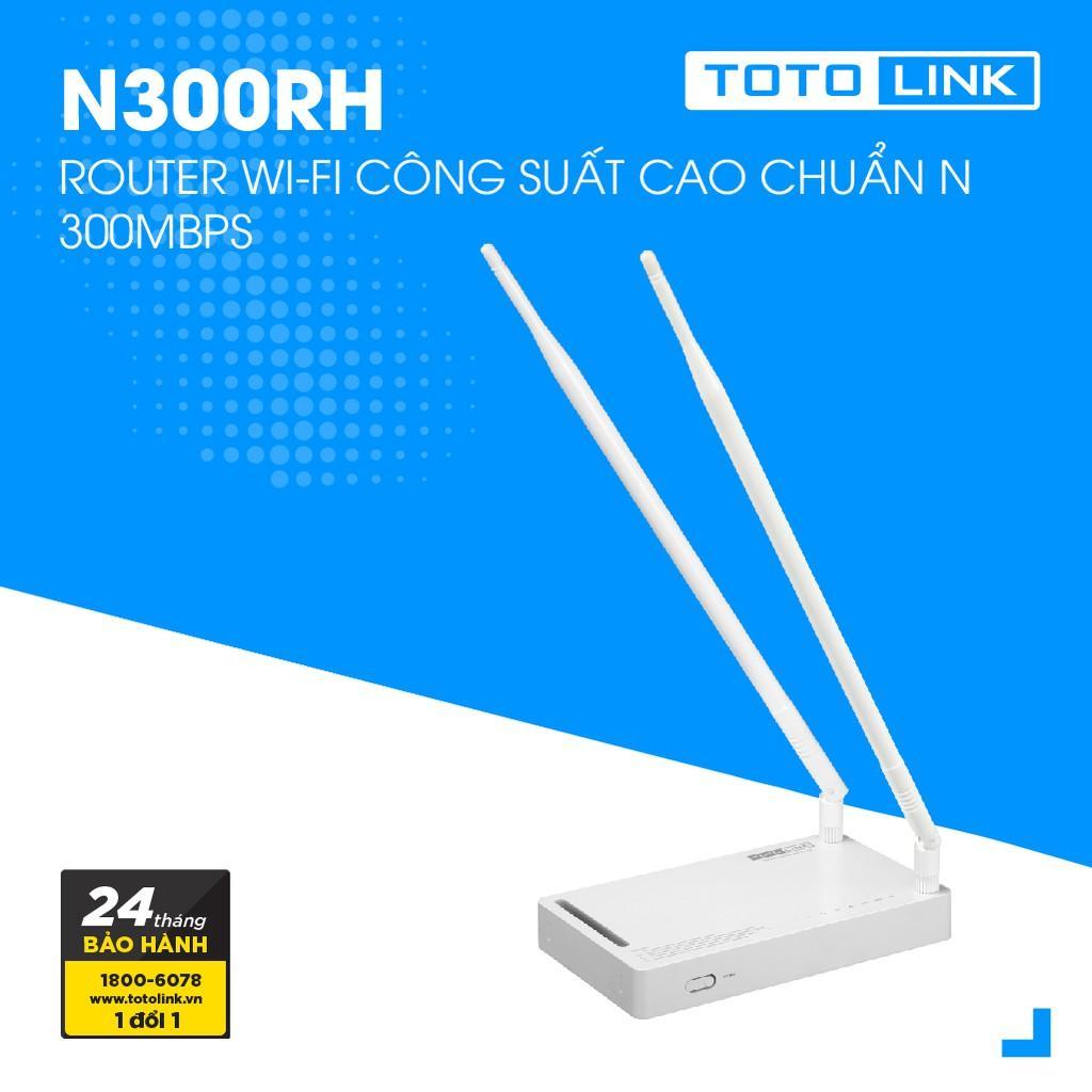 Giá Bộ phát sóng wifi TotoLink N300RH - HÃNG PHÂN PHỐI CHÍNH THỨC