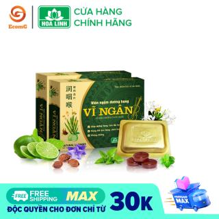 Viên ngậm dưỡng họng, thảo dược, tiêu viêm Vĩ Ngân - Hộp 10 viên - VN1-03 thumbnail