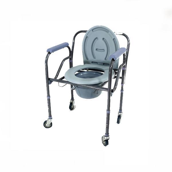 Ghế bô vệ sinh có bánh xe Lucass GK96/ G696