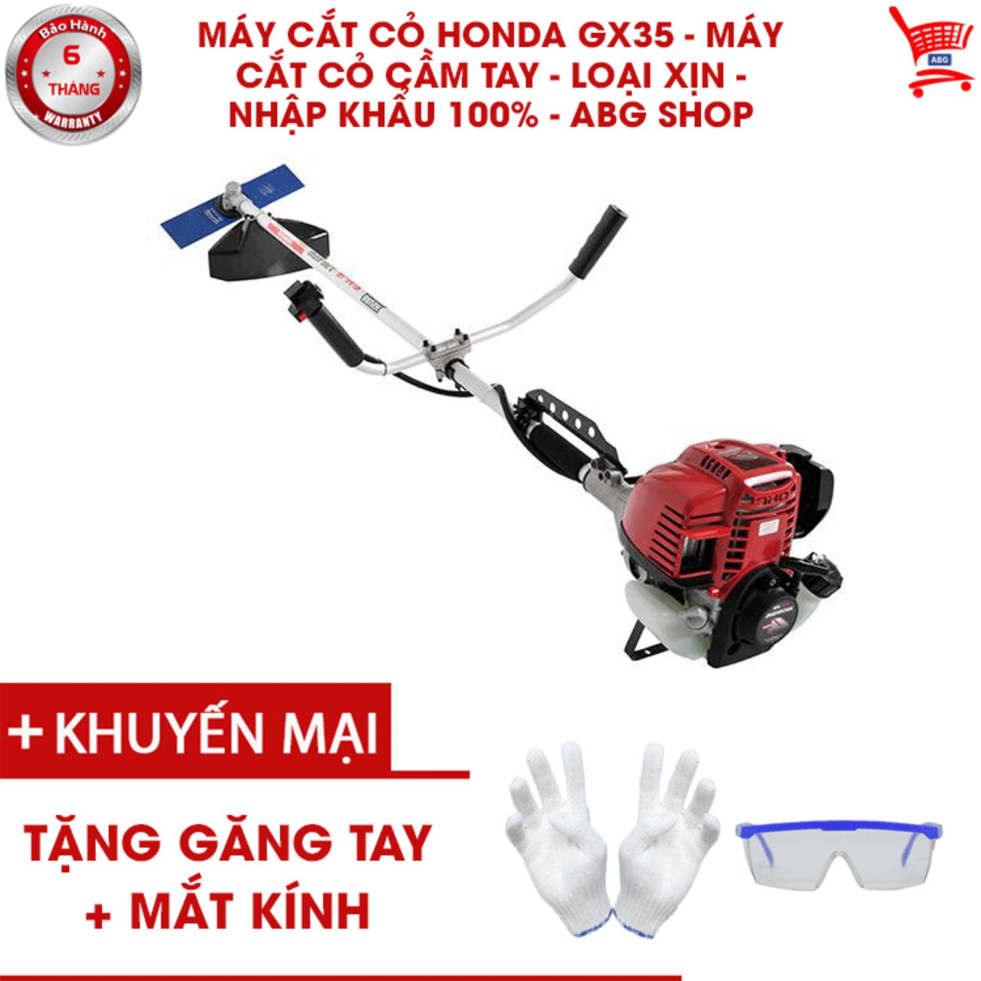 Máy cắt cỏ Honda GX35 - Máy cắt cỏ cầm tay - Loại xịn - nhập khẩu 100% - ABG shop