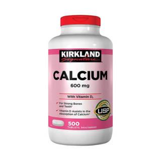 Viên uống bổ sung Calcium 600mg và Vitamin D3 chai 500 viên Date 2023 thumbnail