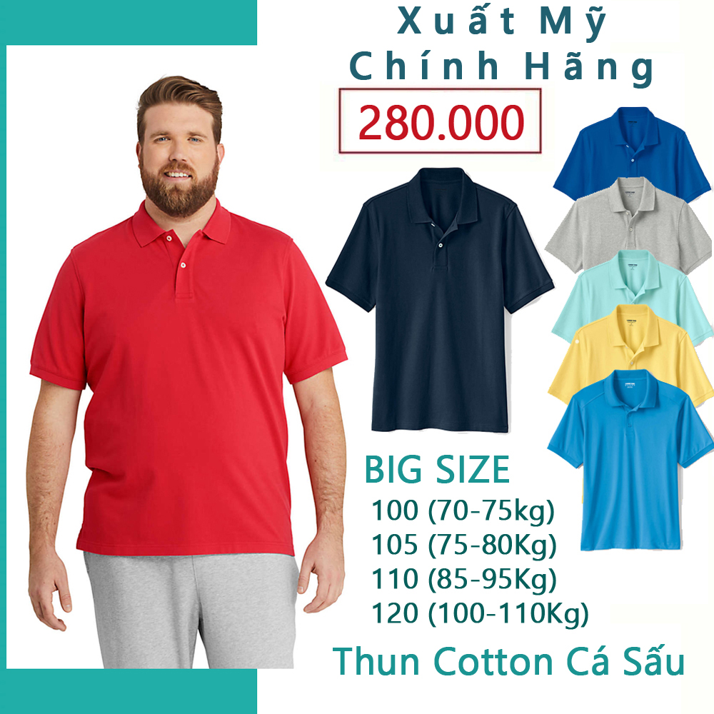 Áo polo nam cổ dệt bo len, áo thun nam có cổ big size Vải cotton cá sấu - FO76 SHOP