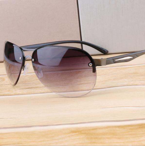 Giá bán [HCM]Kính mắt nam thời trang bằng kim loại chống tia UV HANGĐẸP