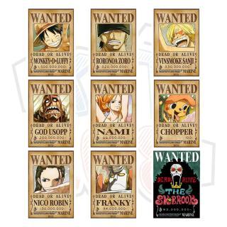 Poster truy nã Băng Hải Tặc Mũ Rơm (Timeskip) - One Piece thumbnail