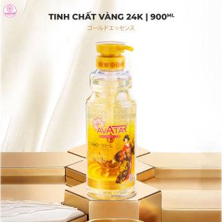 Sữa tắm 24k Nano hương nước hoa Avatar 900ml - Công nghệ Nano cao cấp Nhật Bản chăm sóc làn da trắng thơm toàn diện (thích hợp cho cả gia đình) thumbnail