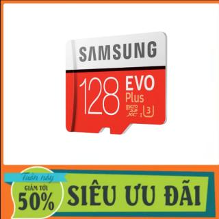 [Best Seller] Thẻ nhớ MicroSDXC Samsung Evo Plus 128GB U3 4K R100MB s W60MB s - box Hoa New Kèm Adapter New 2021 thumbnail