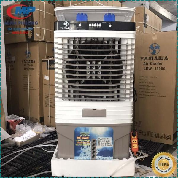 Quạt điều hòa quạt hơi nước YAMAWA LBW 13000 290W 85Lít Model 2020 Mặt kính Bảo hành 24 tháng