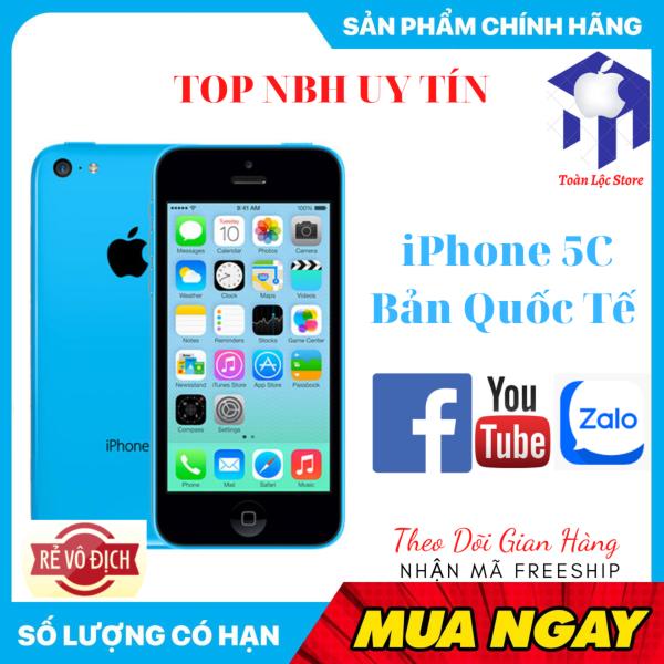 Apple Iphone 5C 16gb Bản Quốc Tế Mới Thời Trang Giá Rẻ - Full CHức Năng Đủ Màu - Giải Trí Zalo YYoutube Facebook