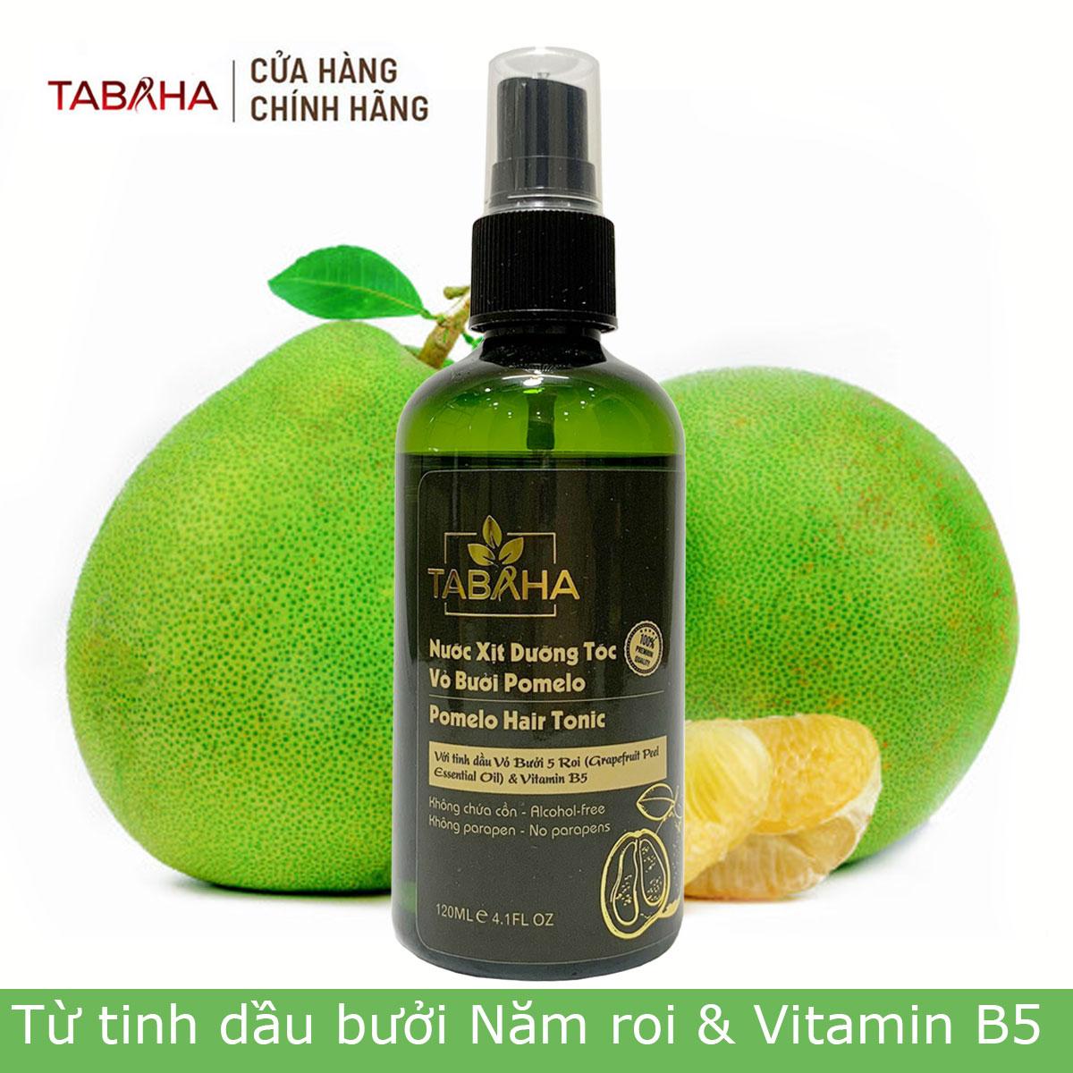 Tinh dầu bưởi Pomelo Tabaha 120ml giúp tóc mọc nhanh gấp 3 lần