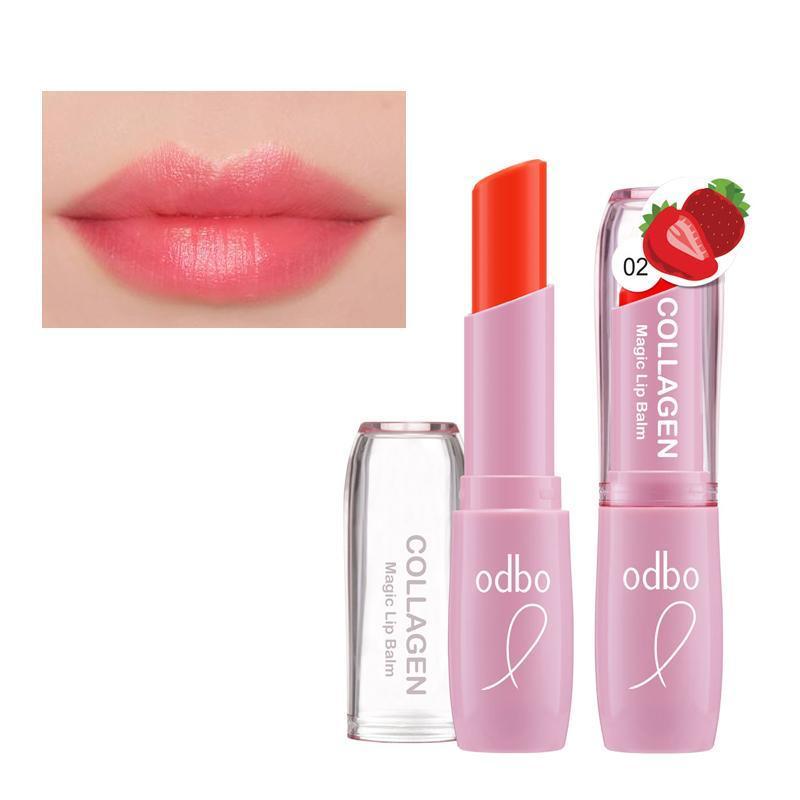Son dưỡng môi Thái Lan Odbo Collagen magic lip cao cấp