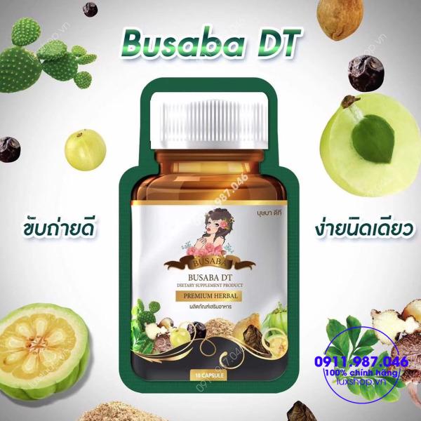 Viên uống khử mỡ,thải độc,giảm cân BUSABA -Thái Lan