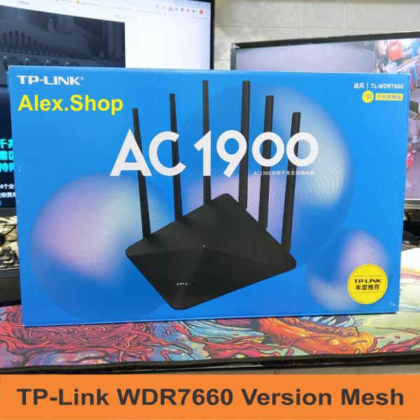 Bảng giá [Cổng 1Gbps-Mesh] TP-Link WDR7660 Mesh Thiết Bị Phát Wifi 1900Mbs Phong Vũ