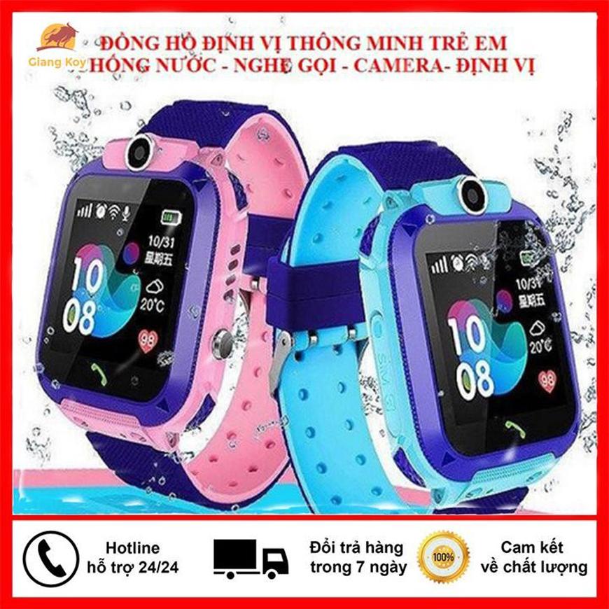 [HÀNG CHÍNH HÃNG] Đồng hồ định vị trẻ em Samsung, Xiaomi, Wonlex - Đồng hồ thông minh trẻ em chống nước Q12, Đồng hồ định vị trẻ em loại nào tốt, Nghe gọi, có tiếng việt, chụp ảnh từ xa có thời lượng chờ lên tới 2-3 ngày
