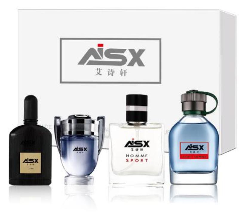 BỘ 4 Chai Nước hoa cô đặc  ASX cho Nam & Nữ 30ml (Có 4 mùi) nước hoa thơm lâu cả ngày. Dung dịch nước hoa nhập khẩu từ HÀN QUỐC nhập khẩu