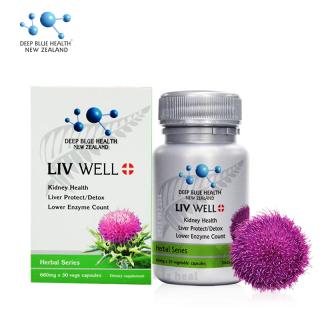 Liv Well Deep Blue Health 660mg (30 Viên) thumbnail