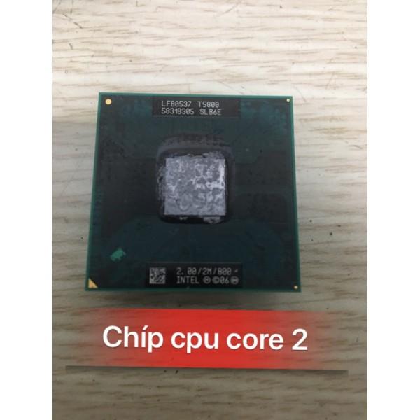 Bảng giá CPU intel laptop co2 T2390 đến T9500 hàng bóc máy zin đã tét ( ảnh minh họa ) Phong Vũ