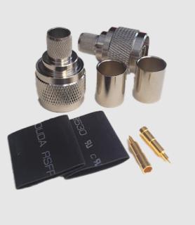 N FOR RG8, connector N đực BÓP RG 8( giá 1 chiếc ) thumbnail