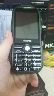[Xả Hàng Tết] Điện thoại di động Forme D777 kiêm sạc dự phòng, màn hình 2.8inch, pin 5800mAh, Loa 3D to rõ, font chữ lớn - Phân phối chính hãng thumbnail