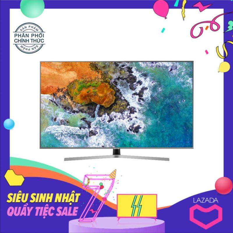 Bảng giá Smart Tivi Samsung 50 inch Ultra HD 4K - Model 50NU7400 (Đen) Tích hợp DVB-2, Wifi