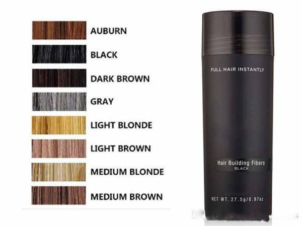 [ Có 7 màu lựa chọn ] Bột phủ dày tóc che hói đầu Toppik hair