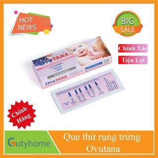 Que thử rụng trứng - Ovutana - Dụng cụ cho biết ngày dụng trứng - Dụng cụ, thiết bị y tế - An toàn - Nhanh chóng - Đơn giản và Chuẩn xác thumbnail
