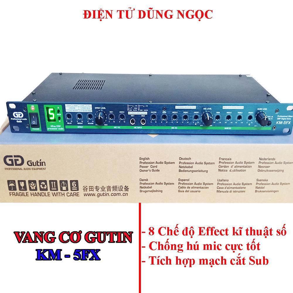 Lazada Ưu Đãi Khi Mua Vang Cơ Gutin GD KM-5FX Karaoke Chống Hú