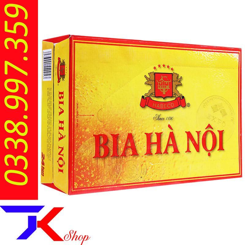 Offer Khuyến Mại Bia Lon Hà Nội 24 Lon 330ml-Lon