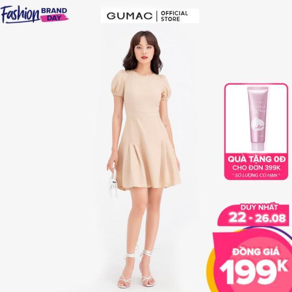 Nơi bán Đầm nữ chiết ly tùng GUMAC DB604