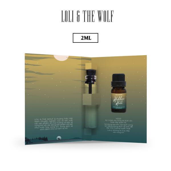Nước Hoa Mini Cho Vùng Kín Cho Nam Eau De Parfum - Hidden Hill - Chai 2ml nhỏ gọn tiện lợi cao cấp