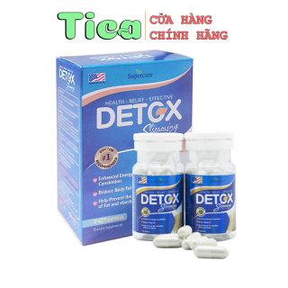 Viên Uống Giảm Cân Detox Slimming Capsules USA 2 Lọ (42 Viên) thumbnail