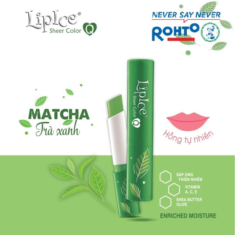 Son dưỡng Lipice Sheer Color Q Matcha 2.4g (Hồng tự nhiên) giá rẻ
