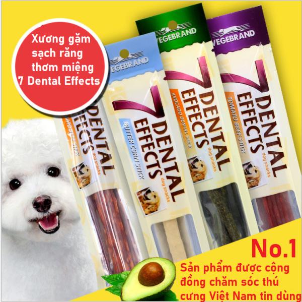 [HCM]Xương gặm sạch răng thơm miệng cho chó 7 Dental Effects (15gr/cây) [CHĂM SÓC THÚ CƯNG]