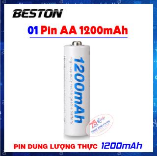 01 pin sạc AA 1200mAh BESTON - Pin sạc BESTON Pin mic không dây, camera, pin điều khiển thumbnail