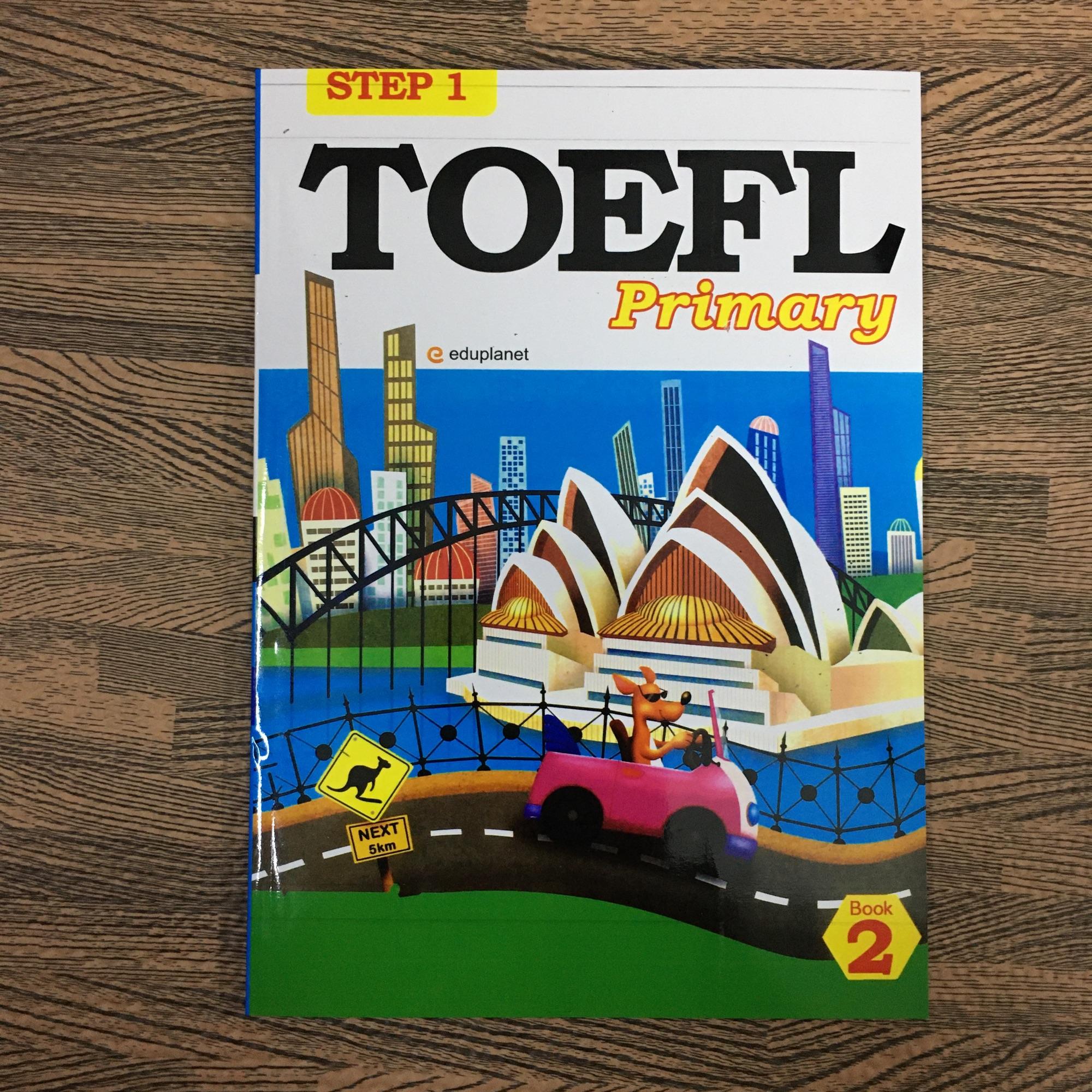 Giá Tiết Kiệm Để Sở Hữu Ngay Sách Step 1 Toefl Primary Book 2 (kèm File Nghe)