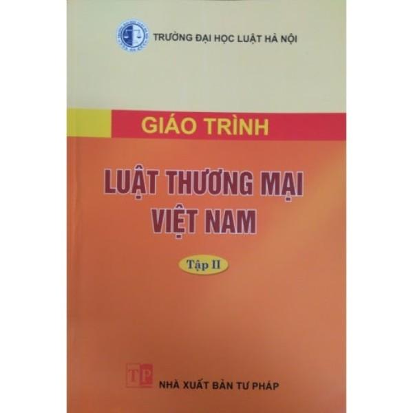 Mua Sách - Giáo trình Luật Thương mại Việt Nam Tập 2