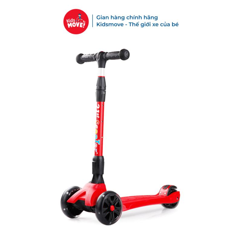 Mua Xe trượt scooter 3 bánh có đèn LED phát sáng, gấp gọn tiện lợi cho bé 3-14 tuổi 21st scooter SPINE
