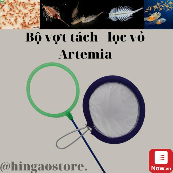 Bộ Vợt Tách Vỏ - Tách Artemia Trung Quốc - Phụ kiện cá cảnh  Hingaostore.