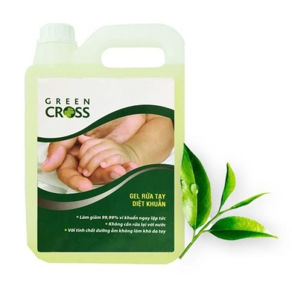 Rửa tay khô Green Cross can 5000ml