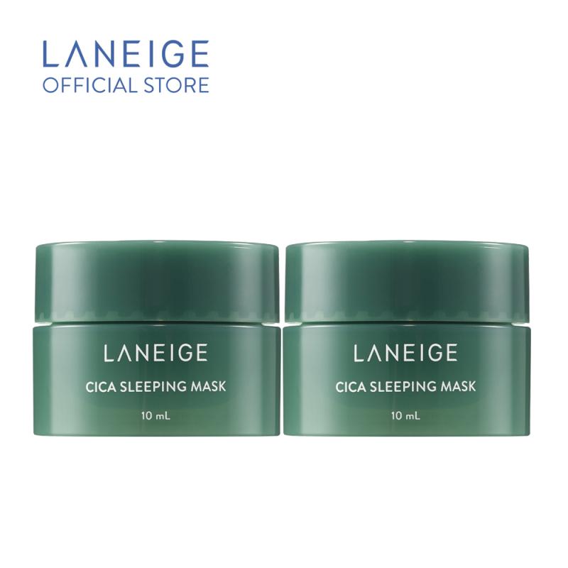[Quà tặng không bán] Bộ 2 Mặt nạ ngủ dưỡng ẩm Laneige Cica Sleeping Mask 10Ml giá rẻ