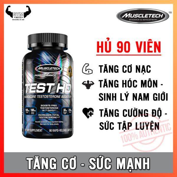 Viên tăng cường hóc môn - sinh lý nam giới giúp tăng cơ Test HD MuscleTech 90 viên - Hàng phân phối chính hãng 100%