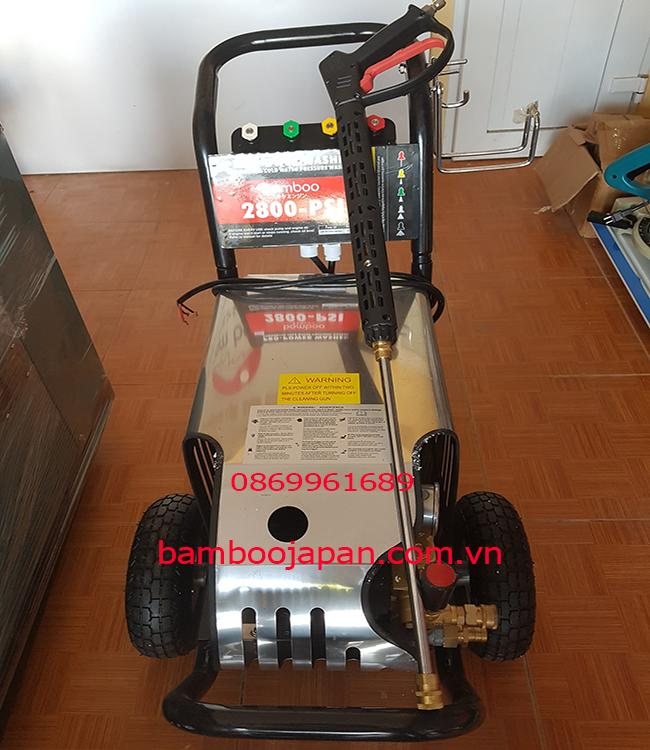 Máy rửa áp lực, đẩy tay Bamboo BmB 2800 PSI 2,2kw