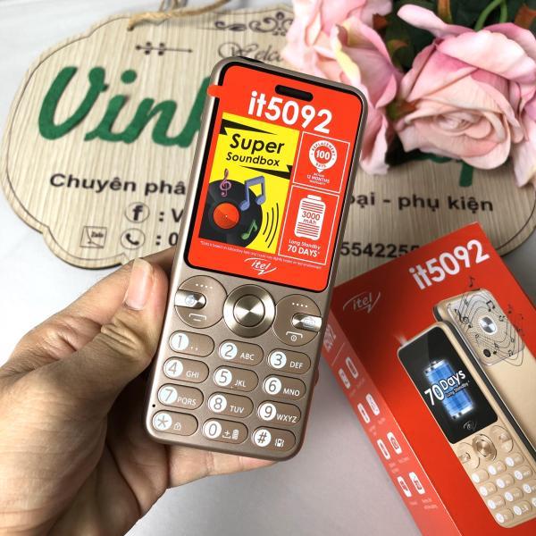 Điện thoại itel it5092 pin 3000mAh mới Fullbox Bảo hành 12 tháng