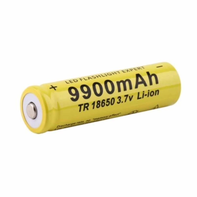 Pin sạc 18650 3.7v Li-ion GTF cho quạt mini, đèn pin... (đầu dương lồi)